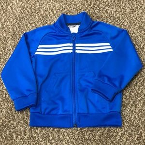Royal Blue Adidas Zip-up Jacket